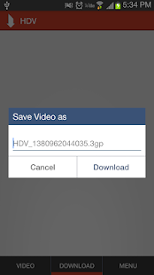 HD Video Downloader - screenshot thumbnail