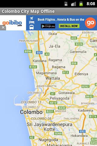 Colombo City Maps Offline
