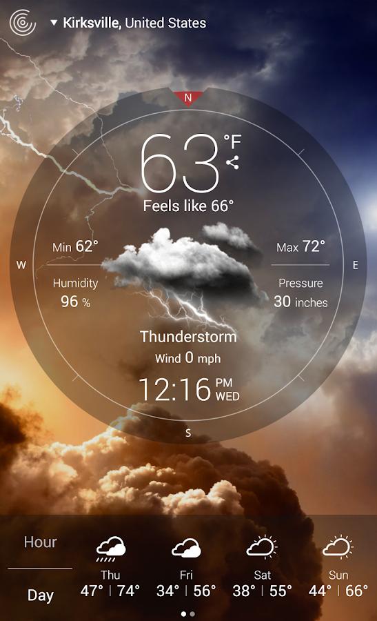 Weather Live - screenshot