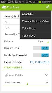 Thru for Android - screenshot thumbnail