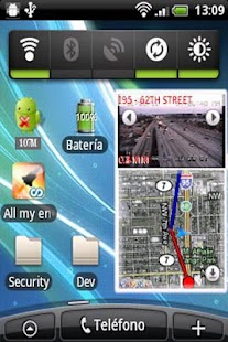 Traffic Cams Widget Demo- screenshot thumbnail