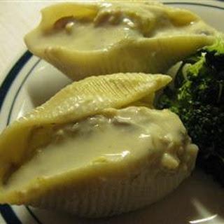 Chicken Stuffed Shells.