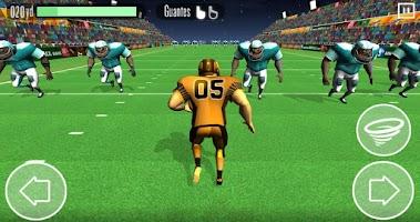Screenshot of American Football Race