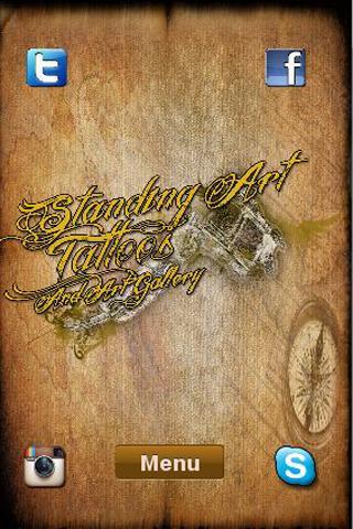 Standing Art Tattoos