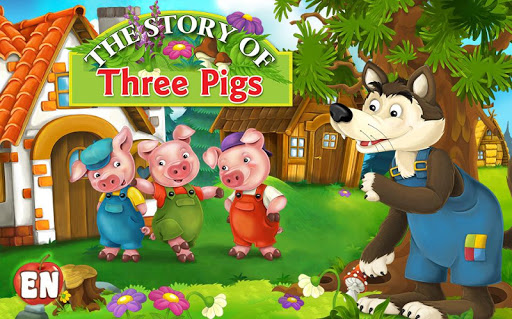 Fairy Tale Puzzle Three Pigs