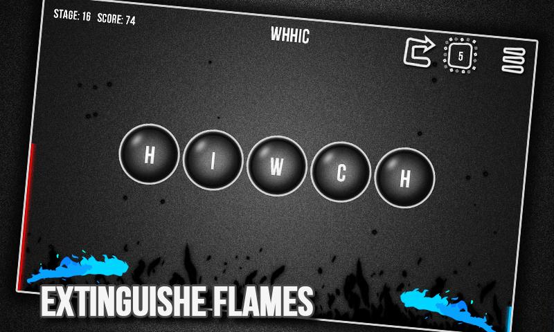 Flame Words - screenshot