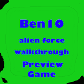 ben10 alien force game preview