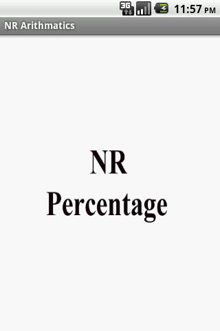 Nrpercentage