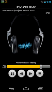 JPOP iNet Radio screenshot 0
