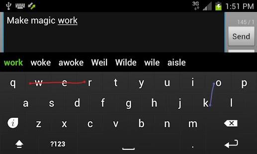 Keymonk Keyboard Free: miniatura de captura de pantalla