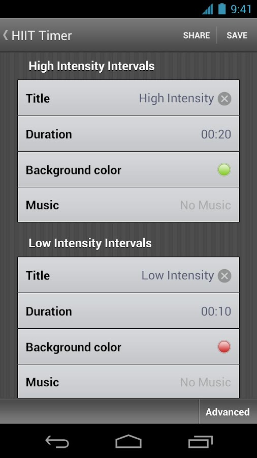 Interval Timer - Seconds Pro - screenshot