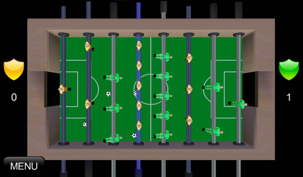Foosball Extreme- screenshot