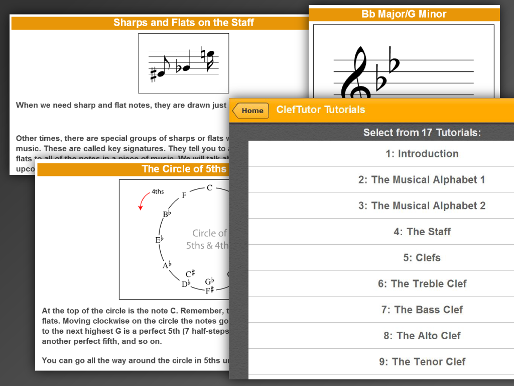 ClefTutor - Music Notes Game- screenshot