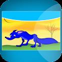 Story Coloring : Blue Jackal logo