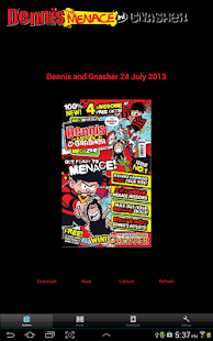 Dennis the Menace MEGAzine - screenshot thumbnail