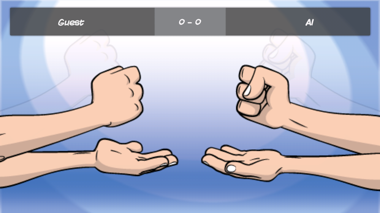 Rock Paper Scissors Online- screenshot
