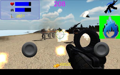 一人の軍隊 3D 射撃