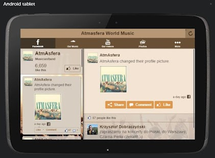 Atmasfera World Music- screenshot thumbnail