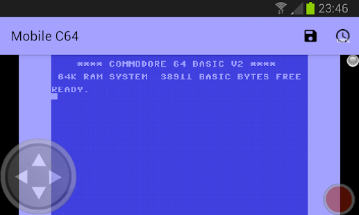 Mobile C64 - screenshot thumbnail
