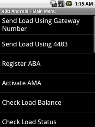 eBiz Android