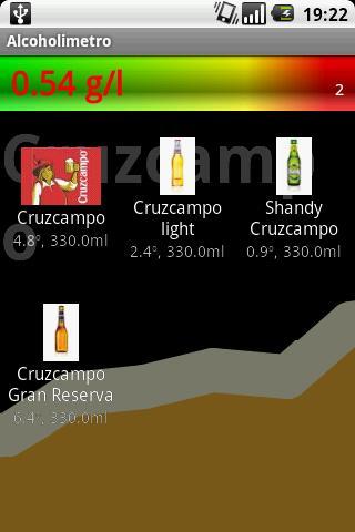 Breathalyzer- screenshot