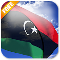 3D Libya Flag Live Wallpaper