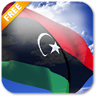 3D Libya Flag Live Wallpaper icon