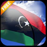 3D Libya Flag Live Wallpaper 3.1.1