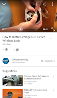 Screenshot of Schlage Electronics How-To
