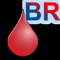Blood donation calculator icon
