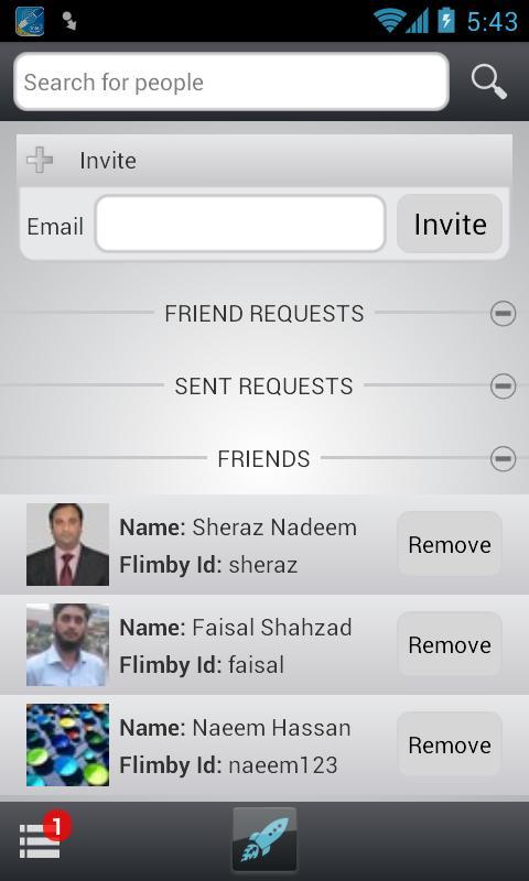 Flimby - screenshot