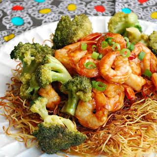 Sweet & Sour Shrimp.