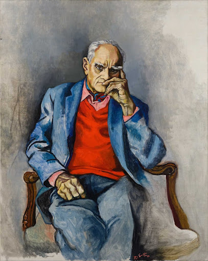 Portrait of Alberto Moravia
