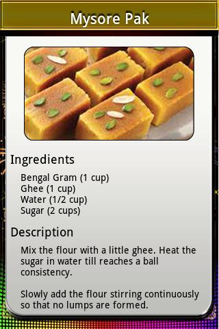 Delicious Diwali - screenshot