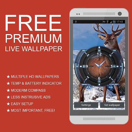 Deer Hunt Season Live Wallaper