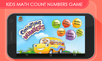 Screenshot of Kids Math Count Numbers Game