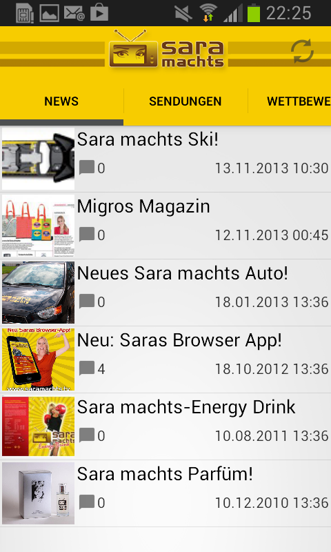 Sara machts - screenshot
