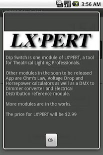 LX'PERT Dip Switch - screenshot thumbnail