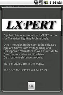 LX'PERT Dip Switch - screenshot thumbnail