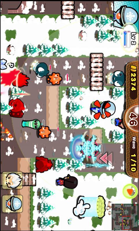 히어로 비긴스 디펜스- screenshot