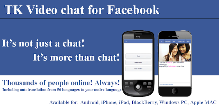 TK Video chat for Facebook - Android Apps on Google Play705