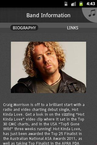 Craig Morrison - screenshot