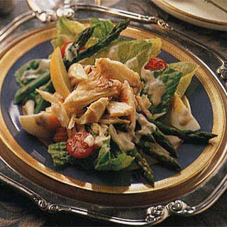 Crab Salad with Sun-Dried Tomato Louis Dressing.