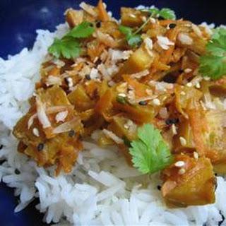 Thai-inspired Tofu.