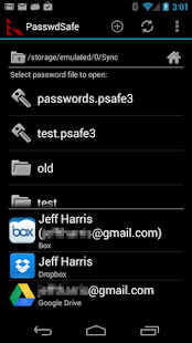 PasswdSafe - Password Safe - screenshot thumbnail