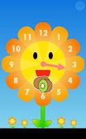 Screenshot of Sunflower clock for Infant