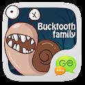 GO SMS Pro BuckTooth Sticker