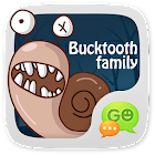 GO SMS Pro BuckTooth Sticker icon