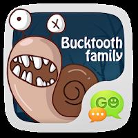 GO SMS Pro BuckTooth Sticker 1.1
