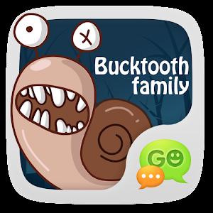 Apk game  GO SMS Pro BuckTooth Sticker   free download